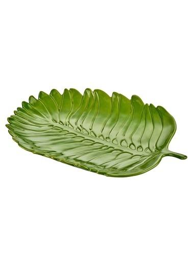 The Mia Dekor Yaprak - 35 Cm Yeşil